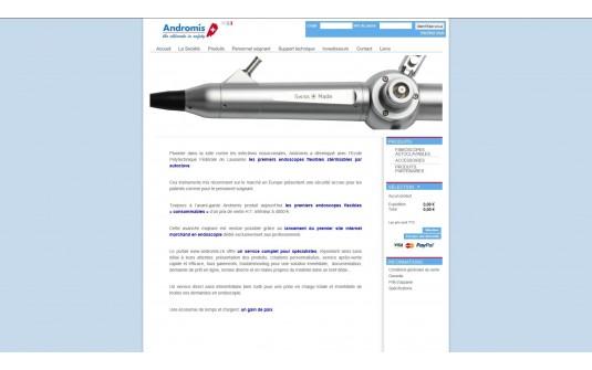 Sterilisation Fibroscope