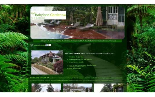 Paysagiste Aménagement Entretien Jardin Biologique Bernex Genève